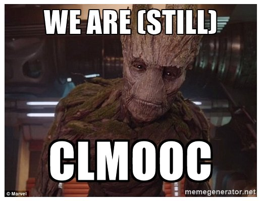 we are still clmooc