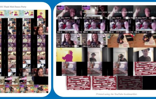 CLMOOC Dance Party Collage